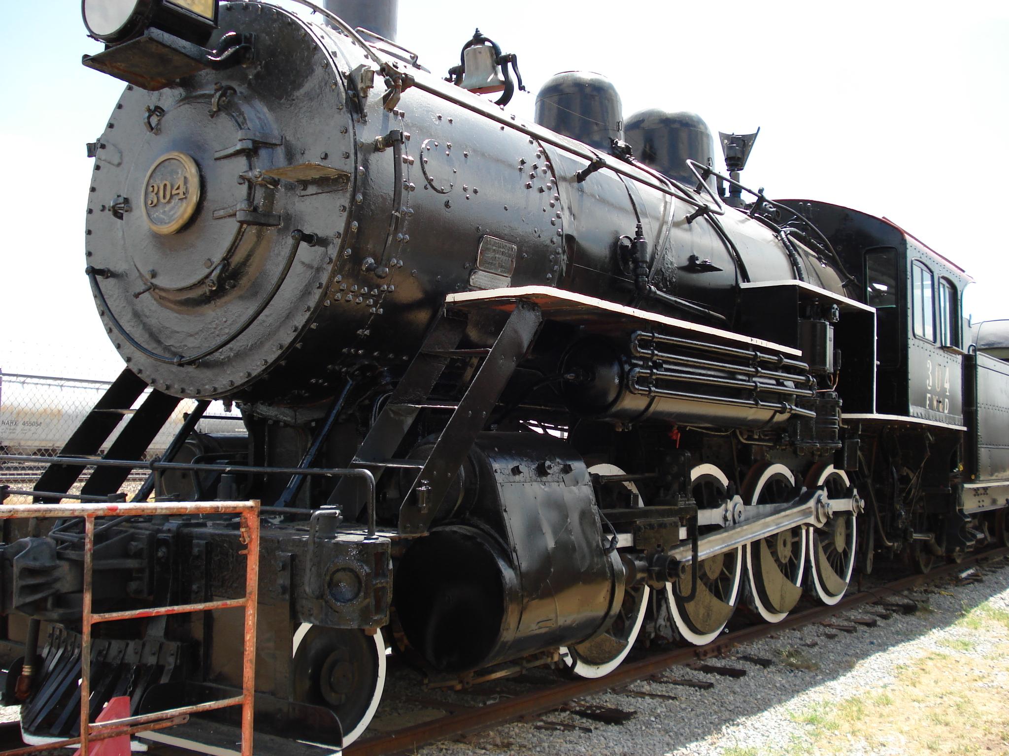 Fort Worth & Denver Steam Locomotive #304