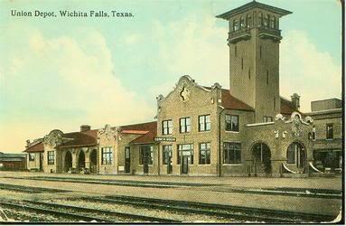 Former Union Station in Wichita Falls