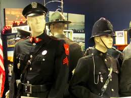 Uniform Exhibit at the Museum