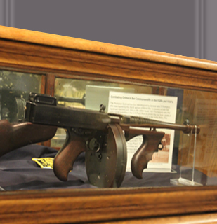 Tommy Gun Exhibit