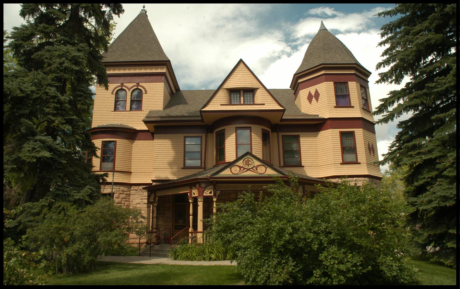 The Ivinson Mansion, now the Laramie Plains Museum