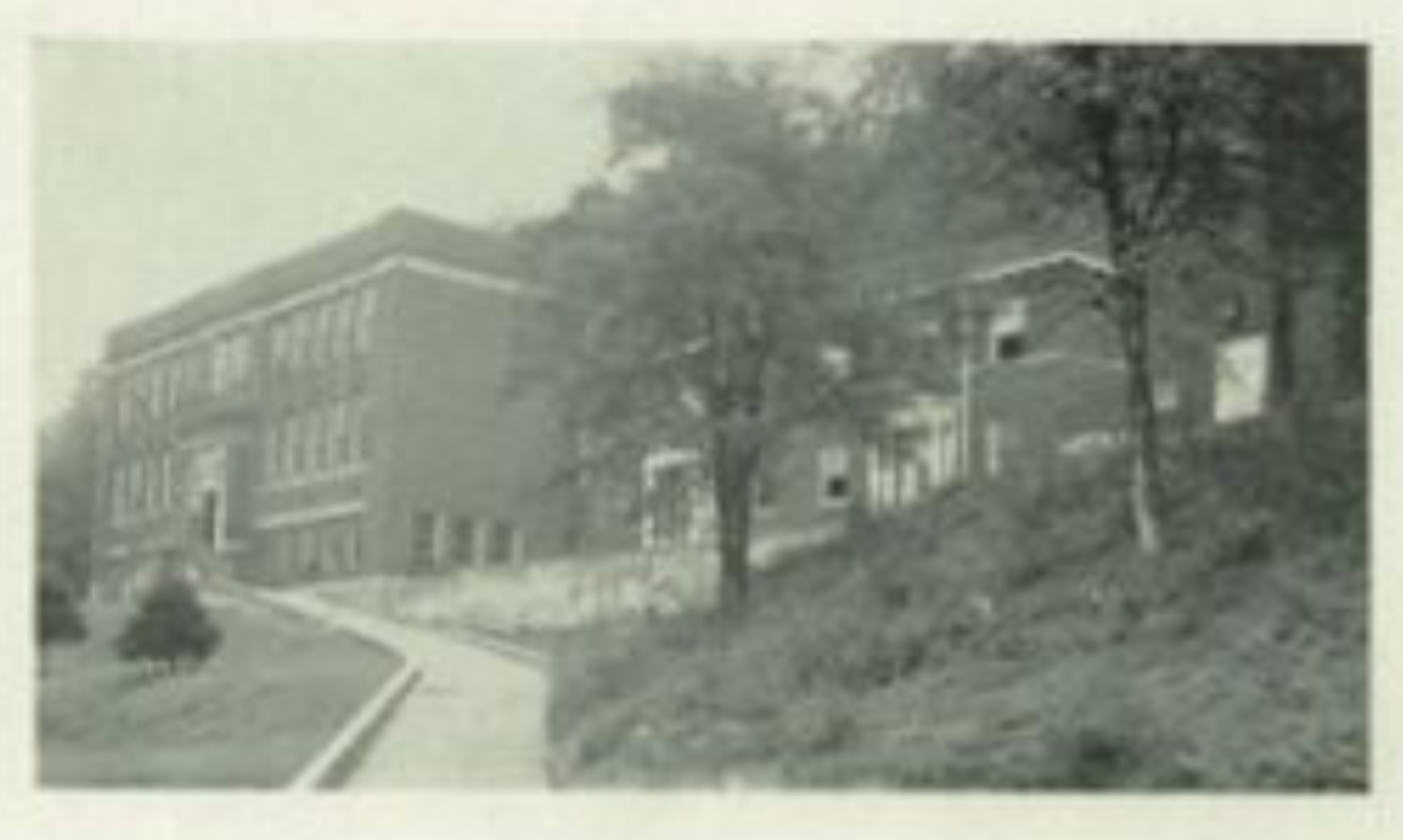 Photo of Simmons High School from a 1948 yearbook.