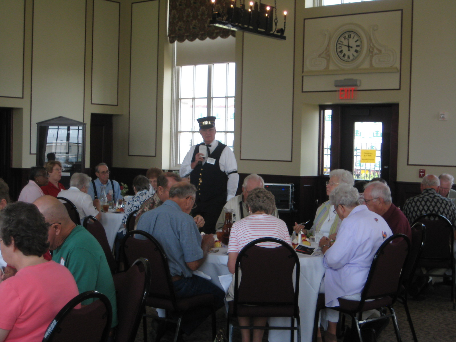 Historical Harvey House luncheons can be scheduled for groups of 25 or more Tuesday through Friday between 11:00 a.m. – 2:30 p.m.