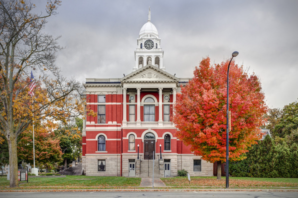 The Eaton County Courthouse was added to the National Register of Historic Places in 1971.