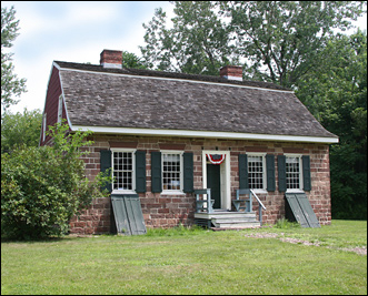 The Campbell-Christie House was built by Jacob Campbell around 1774.