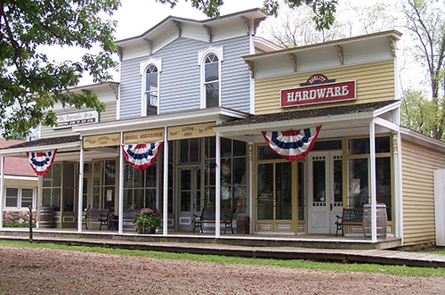 Charlton Print Shop, Hardware Store and General Store