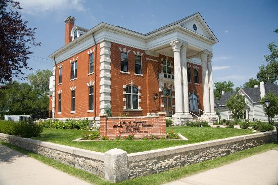The Wyoming Governor's Mansion
