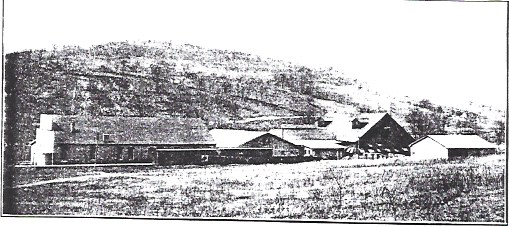 The Star Glass Company the year after its construction in 1905.