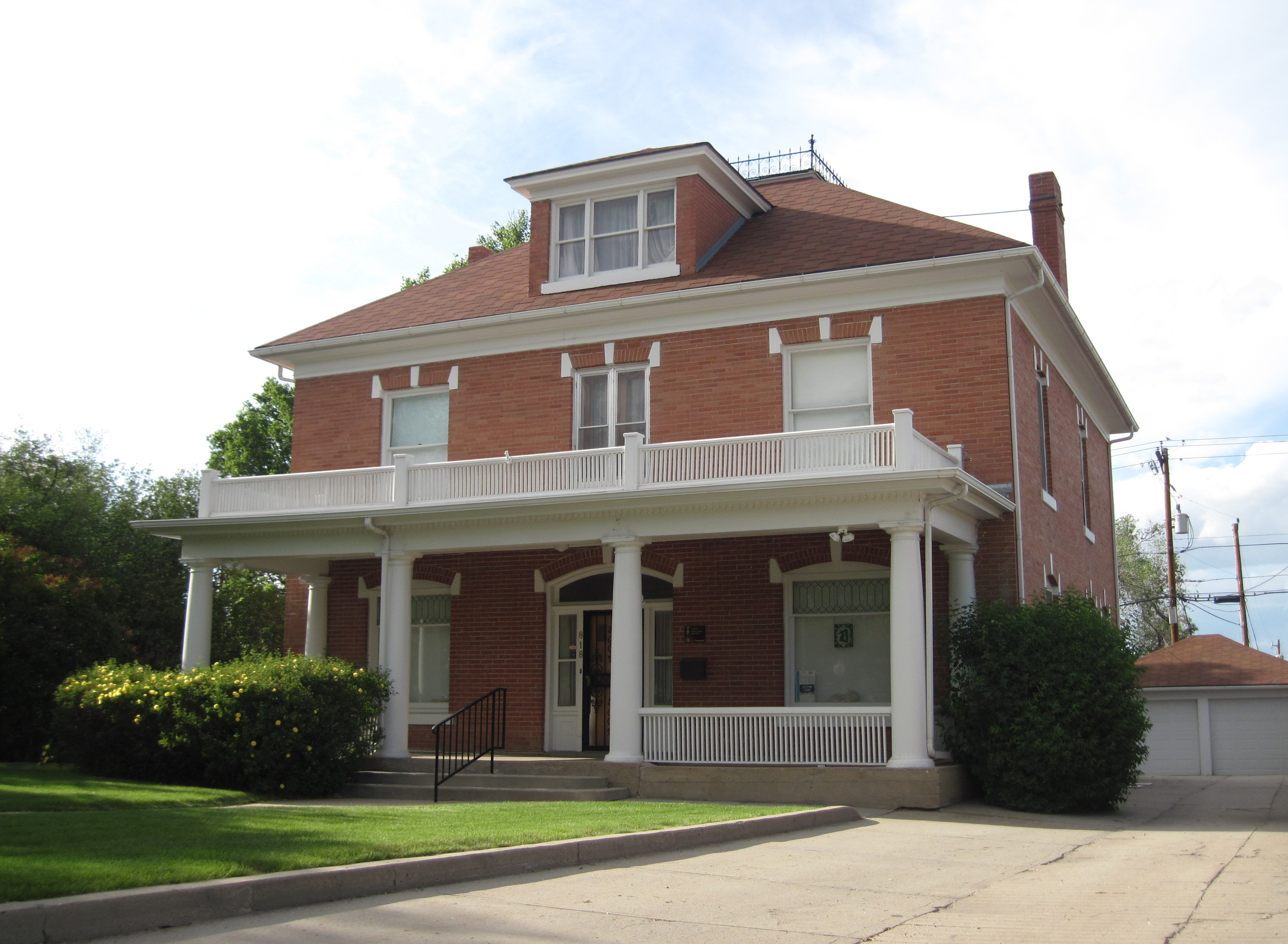 The Bishop House was built in 1907.