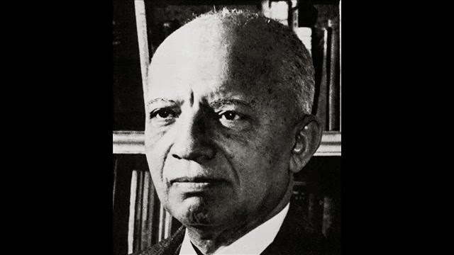 "Carter G. Woodson, cousin of Dr. Barnett and Huntington resident who would later become ""The Father of Black History."""