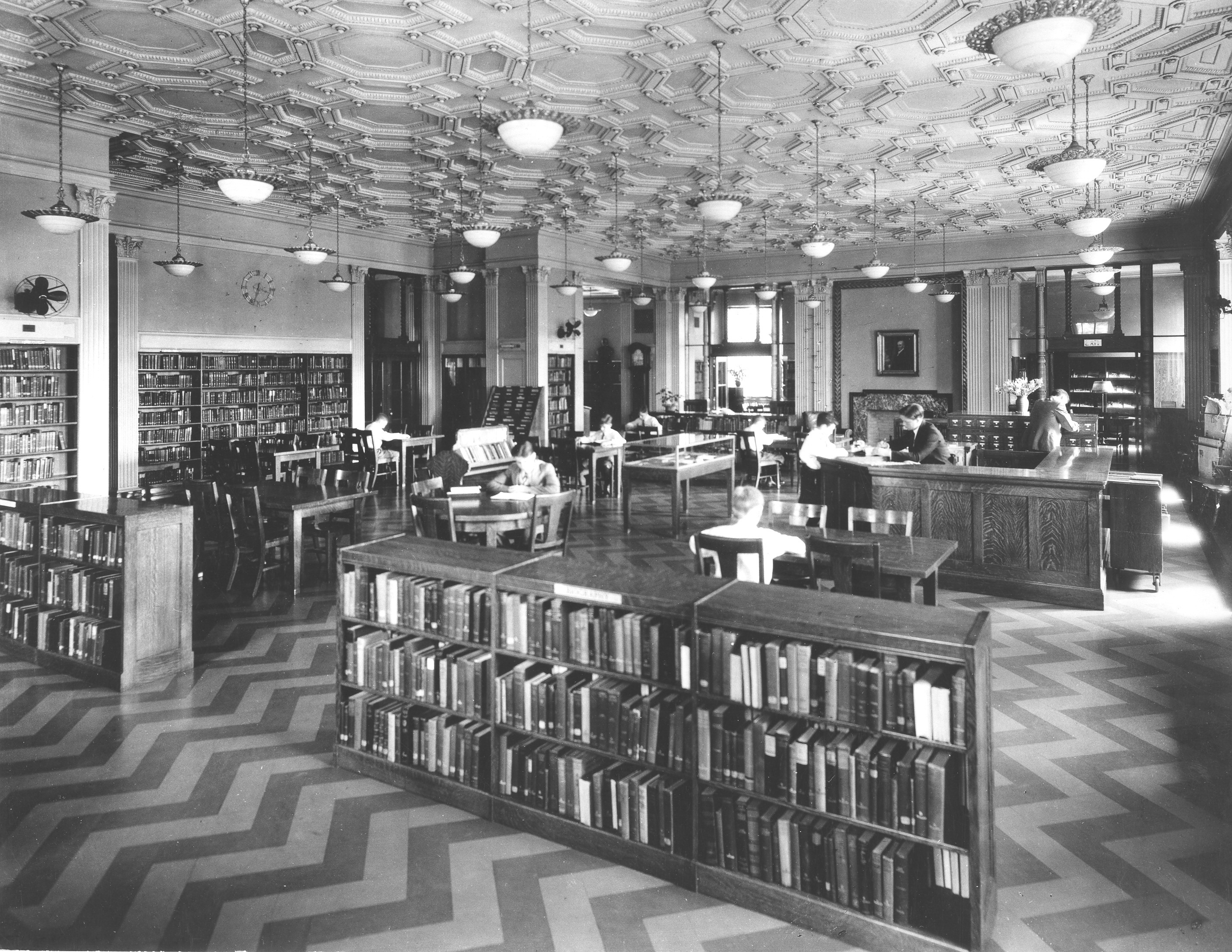 Library second floor
