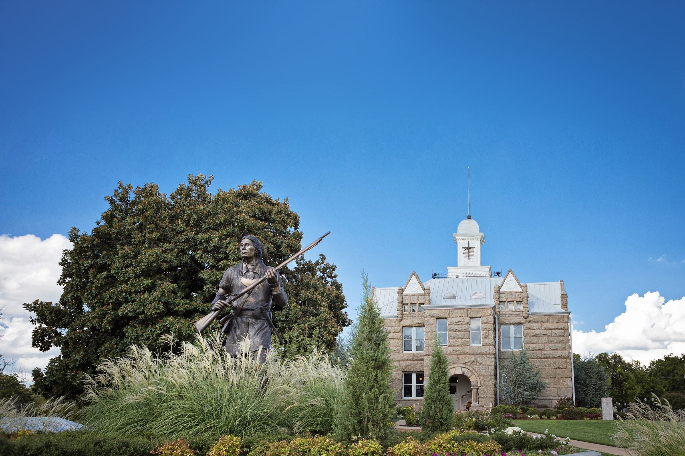 Chickasaw National Capitol Building (image from Chickasaw Country)