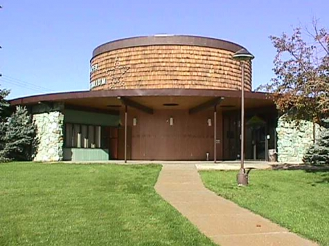 The Casper Planetarium was founded in 1966 and today features the world's first all dome, color, and single projector planetarium system.