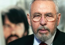 "A photo of Tony Mendez, the man behind the true story of Argo. One of the online exhibits is titled ""Argo Exposed."""