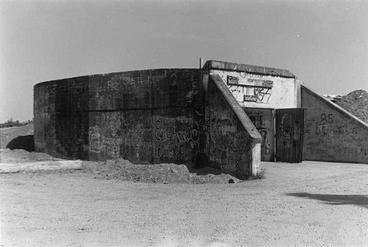 Bunker before renovation