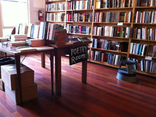 Inside the Poetry Room of City Lights