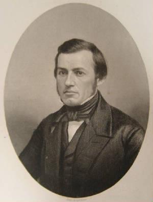 Samuel Haldeman as a young man