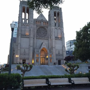 Exterior of Grace Cathedral