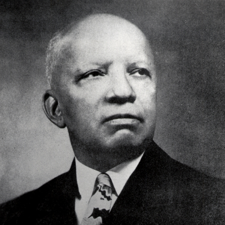 Carter G. Woodson. Courtesy of Berea College, KY.