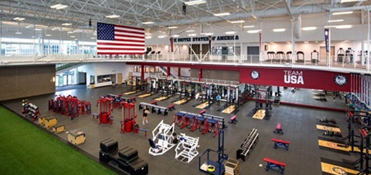 This is the weight room athletes train in