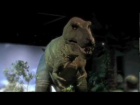 "From the ""Dinosaurs: T-Rex Face-to-Face"" exhibit"