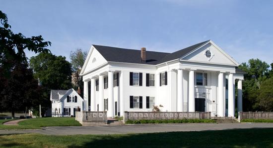 Village Hall (image from Framingham Historical Society)