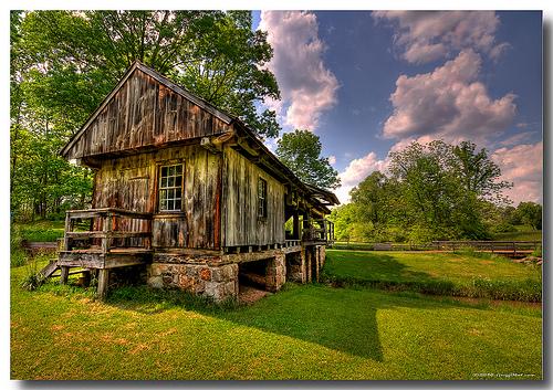 Daniel Boone Homestead Saw Mill