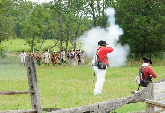 Revolutionary War Skirmish at the Homestead