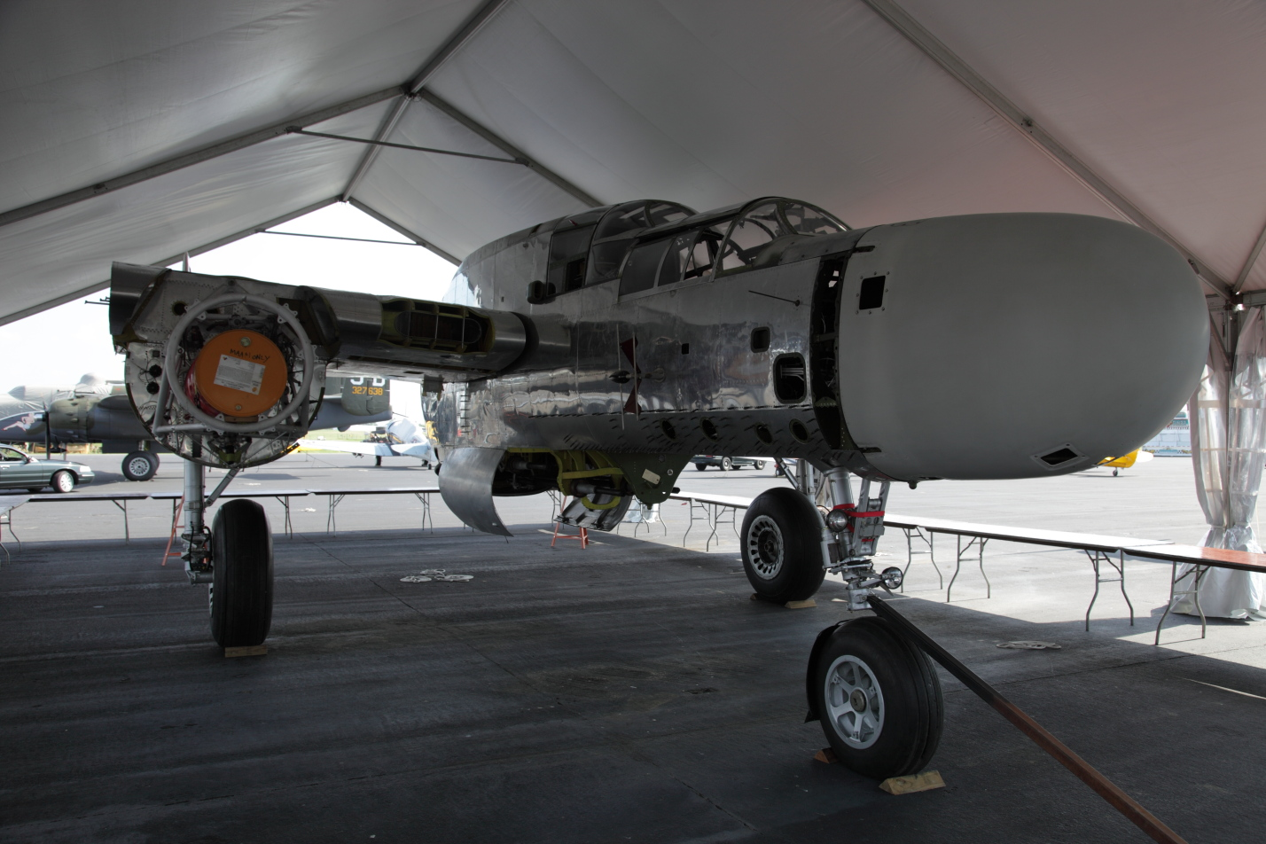 Mid-Atlantic Air Museum's P-61 Black Widow Project