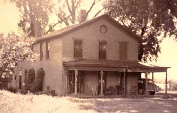 Plum Grove in the 1930s ~ Courtesy of University of Iowa