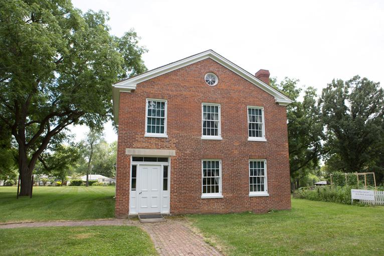 Plum Grove ~ Courtesy of Historical Society of Iowa
