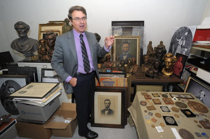 Part of the Lehigh County Historical Society's Abraham Lincoln Collection