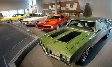 Muscle Cars at the Museum