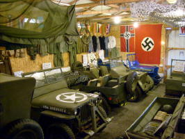 A look at some of the WWII memorabilia inside.