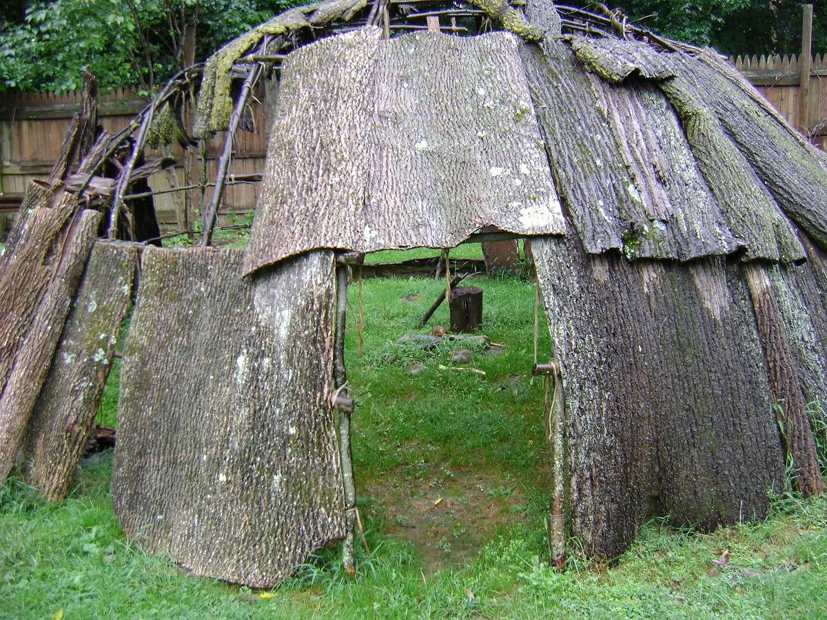 Wigwam Replica Featured at the Museum