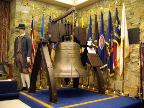 Liberty Bell Replica at the Museum