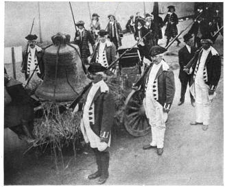 1908 Recreation of the Liberty Bell's Journey to Allentown