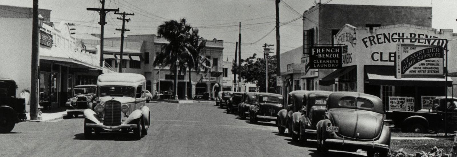 Historic Coconut Grove Photo source: http://www.coconutgrove.com/history/