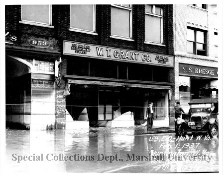 W.T. Grant Co. during the 1937 flood