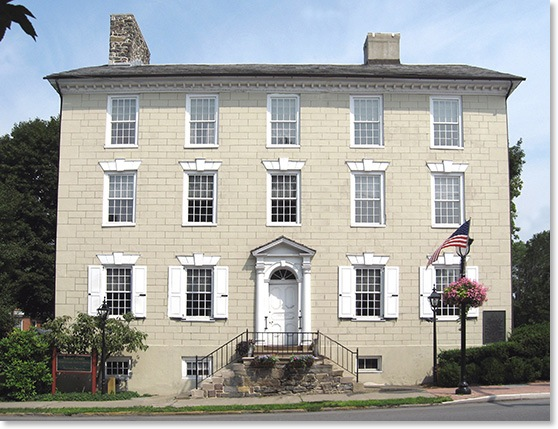 Stroud Mansion Exterior