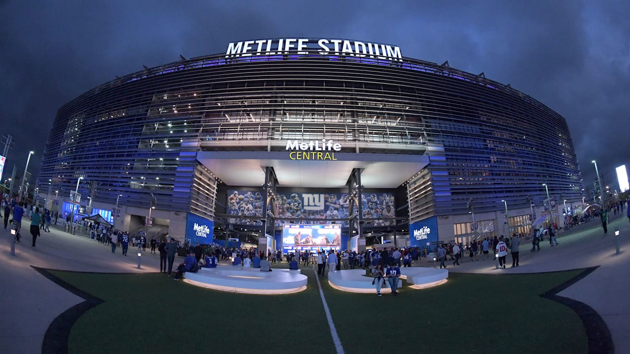 The Outside of MetLife Stadium