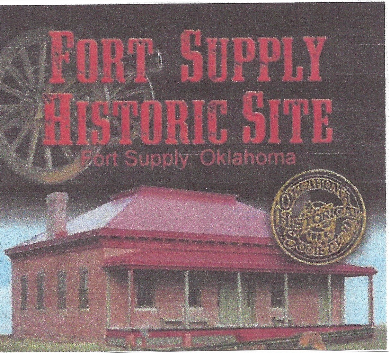 Restored building at Fort Supply, OK