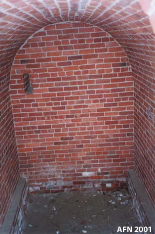 Interior of the Powder Magazine