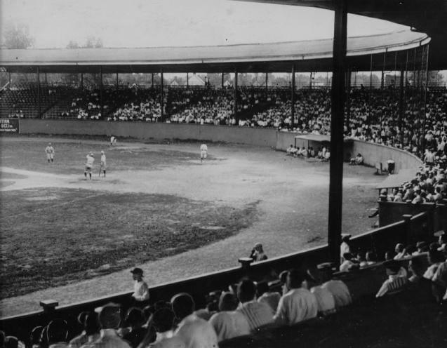 Historic photo of Bosse Field