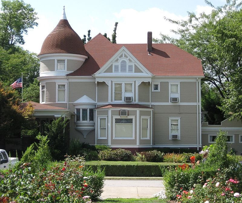 The Albert Bishop Chance House was built in 1904 and is now the location of the Centralia Historical Society.