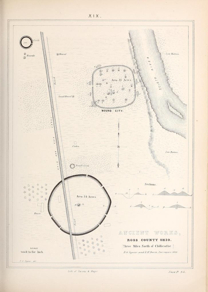 Original survey plate map