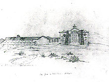 San Juan Capistrano as it appeared in 1850.