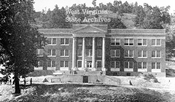 Bluefield Administrative Building (Conley Hall) 1930.