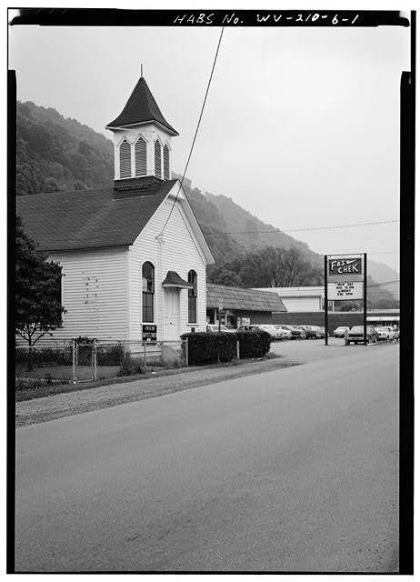 African Zion Baptist Church in 1979. Courtesy of Library of Congress.