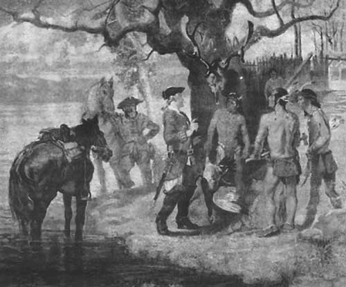 European explorers meet the Piscataway in the late seventeenth century
